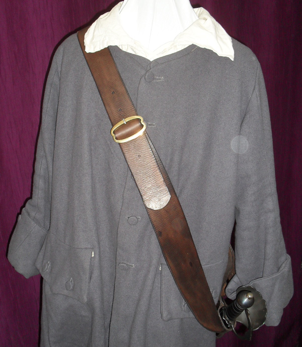 French baldric circa 1660 - 1680